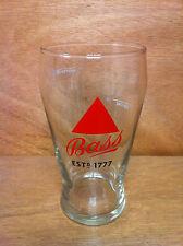 Bass Beer Ale Est 1777 Proper Pour 16 oz Glass - New