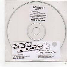 (FS521) Yes Boss, More Or Less - 2006 DJ CD