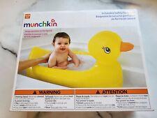 MUNCHKIN Inflatable Duck Baby Bath Tub.