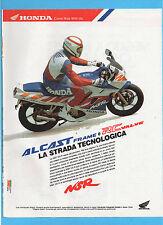 MOTOSPRINT992-PUBBLICITA'/ADVERTISING-1992- HONDA NSR 125 R