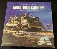 Aurora U.S. Army M8E2 Munitions Carrier Model Assembly Kit 1:48 VERY  RARE  NIB