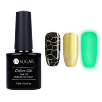 UR SUGAR 3Pcs 7.5ml Nagel Gellack Risse Cracked Nail Art Soak off UV Gel Polish