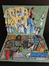 Betty Lukens Bible Story Felt Story Book 13 Panels w/ Felt Pieces Pages 17-29
