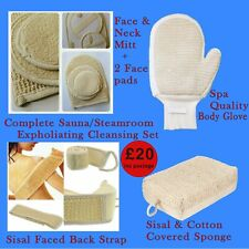 More details for spa quality, complete( 6 piece) exfoliating sauna/steam room cleansing set
