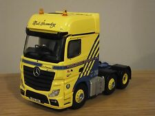 Mercedes Actros MP4 Corgi Middlebrook transporte taxi del carro modelo CC15811 1:50