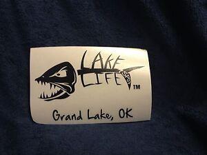 New Black Lake Life Decal-Grand Lake-sticker