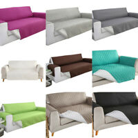 Waterproof Sofa Cover Quilted Couch Pet Kids Mat Slipcovers Furniture Protector