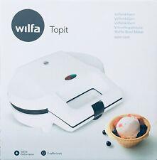 Wilfa Norvegese Topit Waffle Maker Ciotola WBM-550W bianco, 550-watt Europeo Spina