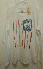 Original Cowgirl Clothing XXL NWT Red White&Blue LS Shirt w/ Indian Chief&Arrows