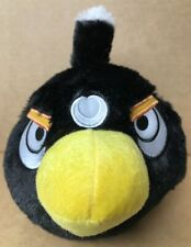 Angry Birds Plush Soft Toy 15cm 6 Inches BLACK ~ BRAND NEW ~ sc