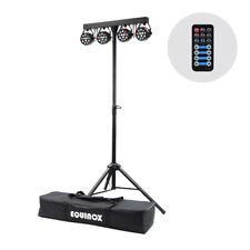 More details for equinox micropar bar system all-in-one t-bar led dmx par dj disco lighting kit