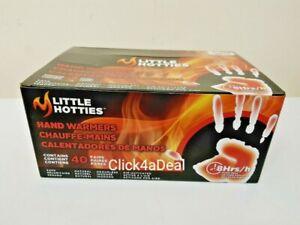 40 x Little Hotties Hand Warmers Pocket Glove Winter Outdoor Cold Heat