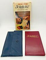 Vintage Scrabble Travel Crossword Game Pocket Edition 1978 #27  In Original Box