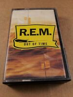 R.E.M : Out Of Time : Vintage Tape Cassette Album from 1991