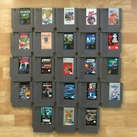 Lot of 23 Nintendo Entertainment System NES Games | Great Condition | Used | C07