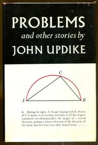 Problems and Other Stories by John Updike-First Edition in Dust Jacket-1979