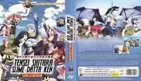 Tensei Shitara Slime Datta Ken (Chapter 1 - 25 End) ~ 3-DVD ~English Dub Version