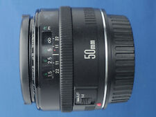 Canon Lens EF 50mm F/1.8 Mk I (Metal Mount) For Canon EOS (D)SLR Camera C/W Caps