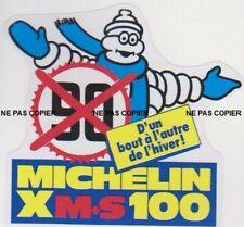sticker autocollant xas michelin casque vintage deco 9 cm