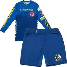 Shoyoroll Stampede Training Rash Guard LS and Fitted Shorts Set XL BRAND NEW!!