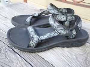 TEVA Black and White Sport Gladiator Sandals. Men's 10 (eur 43)