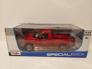 Maisto Special Edition 1:21 Scale Die Cast - Ford SVT F-150 Lightning - Red NEW