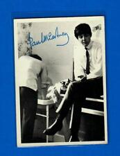 The Beatles Us Original 1960's 2nd Series Topps B & W Card # 100 Paul McCartney