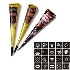Conos de henna natural 3 un. Kit de Tatuaje Temporal Cuerpo Hena, tinta de 25g