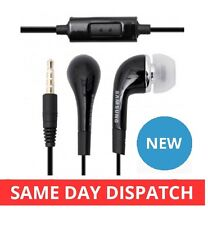 Genuine Samsung In-Ear Handsfree Headset Headphones Galaxy Note S2/3/4/5-BLACK