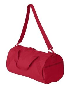 NEW - Liberty Bags Recycled Small Duffle Gym Bag 8 COLORS - 8805