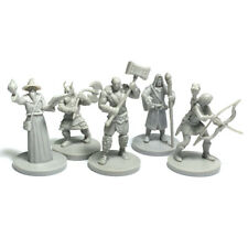 Lot of 5pcs Cthulhu Wars THE LORD OF THE RINGS WARRIORS Game Miniature
