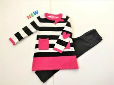 Toddler Kids Baby Girls Clothes 3T NWT Good Lad Knit Sweater Leggings Set