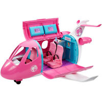 Barbie Dreamplane Playset with Suitcase Trolley and Accessories Multicolour