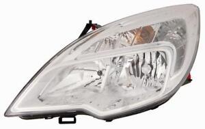 Meriva B 2010-ON RH Drivers Side Headlamp Clear Lens 13253632 AA2