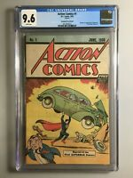 Action Comics 1 - Safeguard Reprint 1976 - First Appearance of Superman