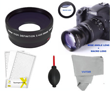 PANORAMIC WIDE ANGLE LENS + MACRO +LCD PRO FOR CANON EOS 1000D 1200D 1300D 1100D