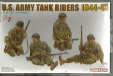 Dragon Gen2 WWII US Army Tank Riders, 1944-45 Figures in 1/35  6378