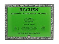 Bloque de acuarela Arches 1795054Â, madera, blanco, 36Â X 26Â X 1Â Cm