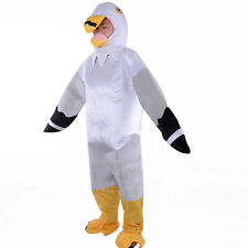 Adult Animal Bird Costumes Seagull Cosplay Halloween Festival Party Fancy Dress