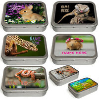Personalised Pets Tobacco Tin 2oz Baccy Pill Storage Cigarette Birthday Animals