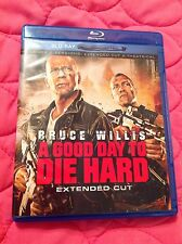 A GOOD DAY TO DIE HARD BLU-RAY 2013 ACTION MOVIE BRUCE WILLIS