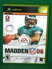 X-Box Video Game Madden Nfl 06 - Used Very Good Condition 2005 Ea Sports