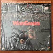 WarGames Laserdisc LD [ML105113] Letterboxed Edition IN SHRINK