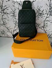 LOUIS VUITTON N41720 AVENUE SLING BAG DAMIER INFINI LEATHER 100% Authentic