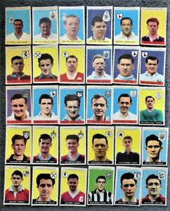 A&BC Footballer Cards Series 1 With Planet 1958 - CHOOSE YOUR CARD, ONE POSTAGE