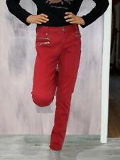 Pantalon rouge bordeaux DDP taille 34