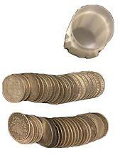 4 Morgan Dollar Rolls, 70 Pre 04, 10 Peace/21 - Nice Assortment of P and 0 mints