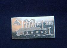 x20 ACB Titanic 1 Gram Limited edition 100 year Anniversary 999 Silver Bullion $
