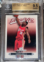 💎2003-04 LeBron James UPPER DECK MVP ROOKIE RC #201 BGS 9.5 w/ 10 Sub PSA🔥HOT!