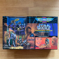 New - Star Wars GALOOB Micro Machines Chewbacca Endor Action Figure Set